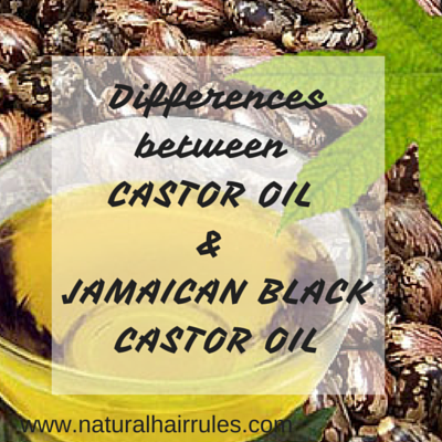 3 Differences Between Castor Oil and Jamaican Black Castor Oil
