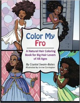 color my fro coloring book