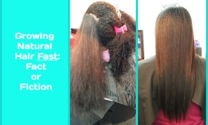 Growing Natural Hair Fast