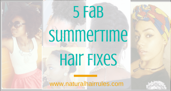 5 Fab-Summertime-Hair Fixes