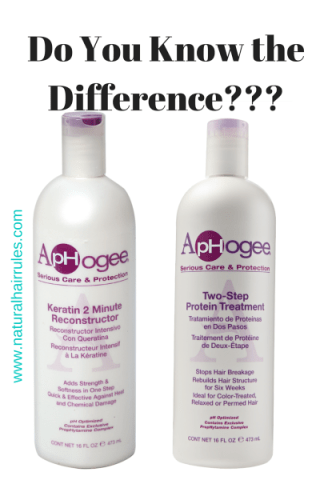 Aphogee Conditioners: Don't Get These Two Confused