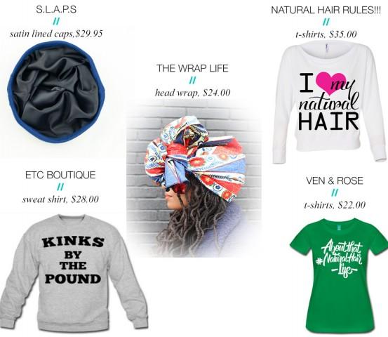 natural hair fashion