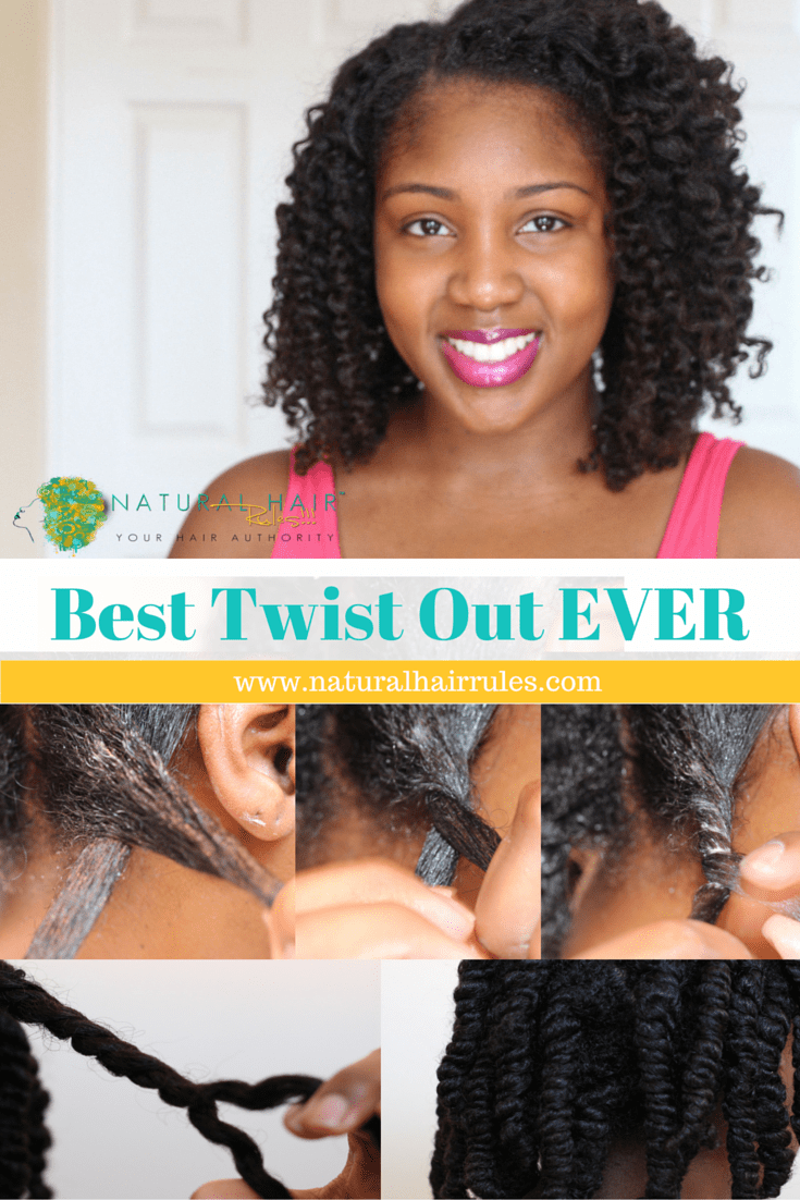 Natural Hairstyle: 5 Easy Steps to Your BEST Two Strand Twist Out