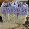 Provence French Lavender with Crushed Rose Petals Soap