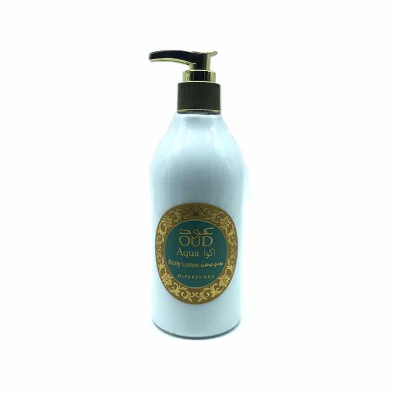Lotion Lait parfumé Oud Aqua 300ml – My Perfumes
