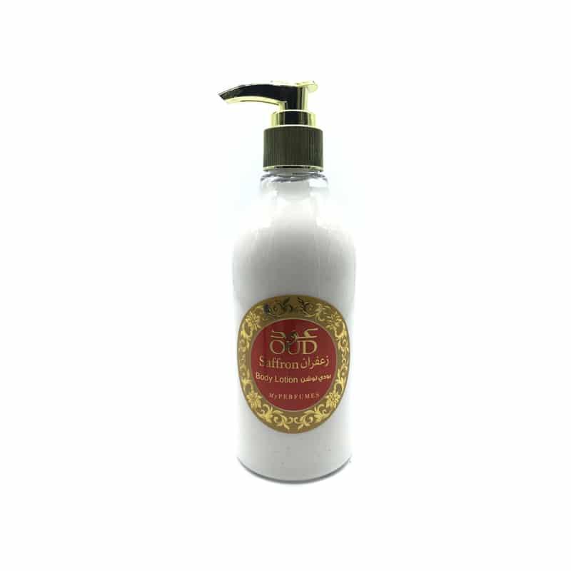 Lotion Lait parfumé Oud & Safran 300ml - My Perfumes