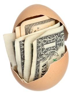 JF money in egg