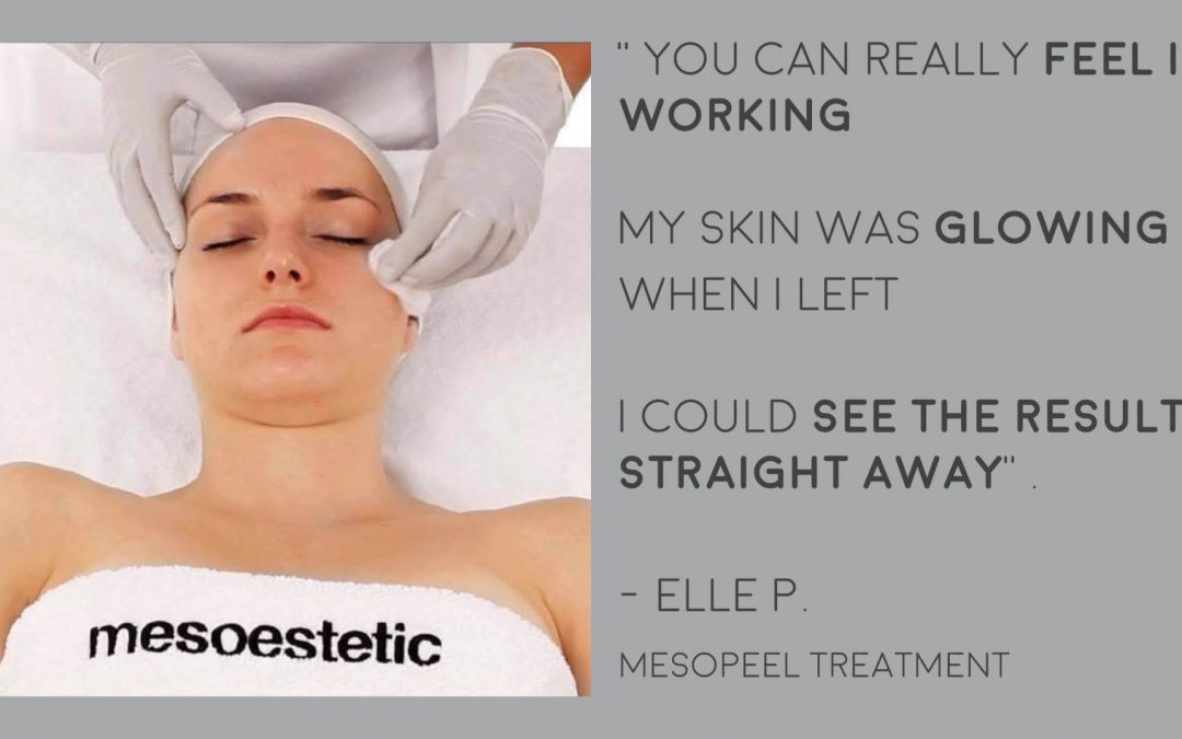 Customer Review: Mesopeels® by Mesoestetic®