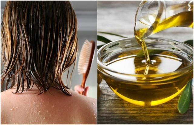 Image result for hair drenched in oil