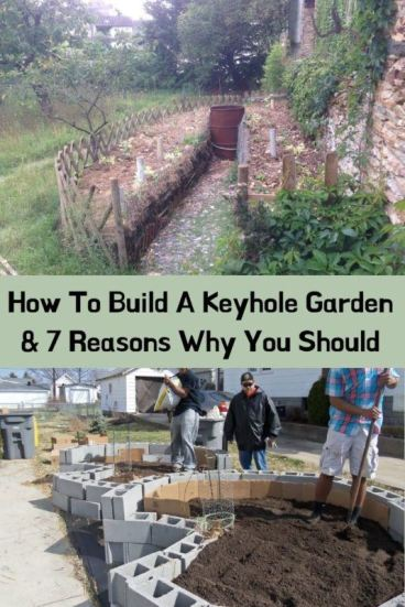 How To Build A Keyhole Garden & 7 Reasons Why You Should