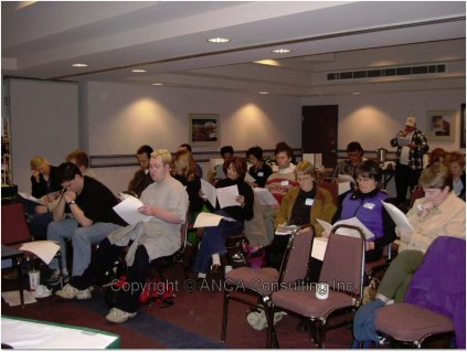 AF Conference 2004 audience participation