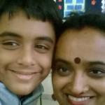 Nalini and son 1