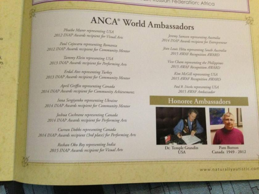 Fall issue NA mag 2015 ambassadors 1