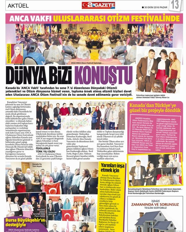 Turkish newspaper Bursa