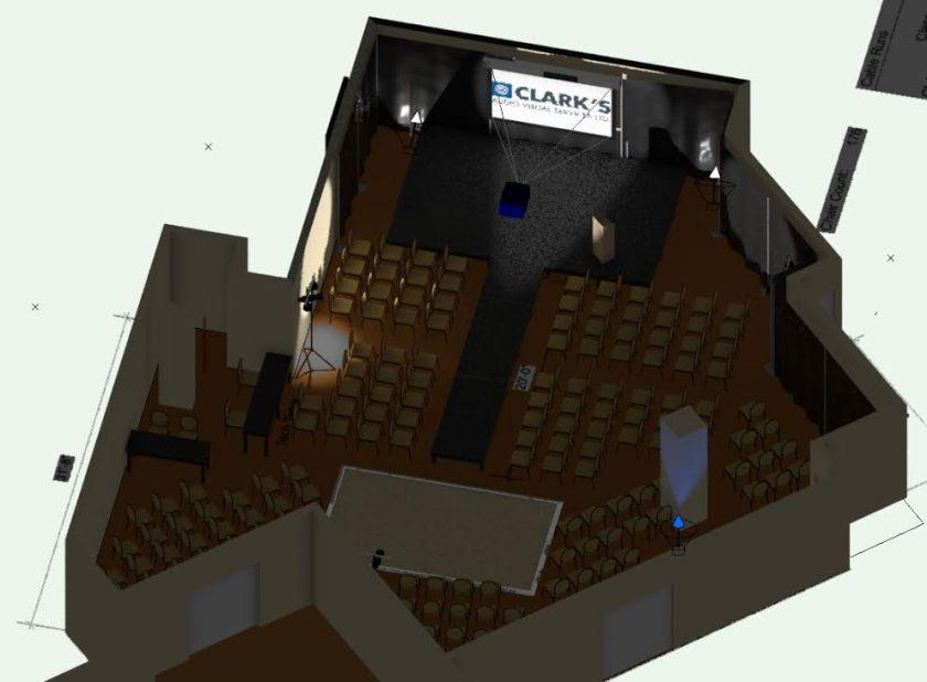 Set and stage design 2016 AWAF 1
