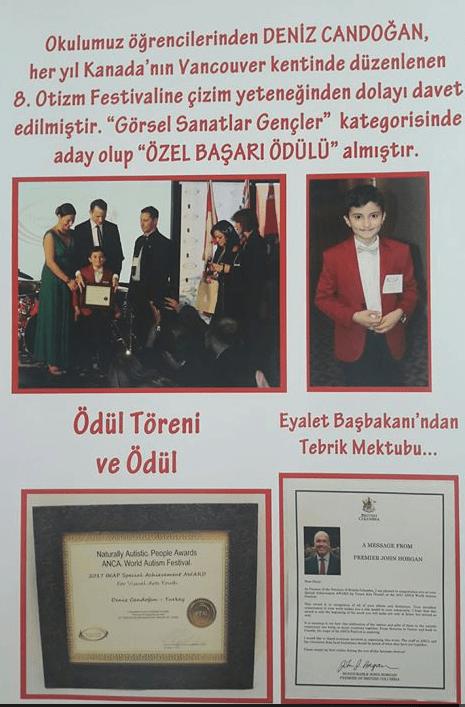 Administrator of Education: Deniz Candogan, INAP AWARD Recipient, Turkey