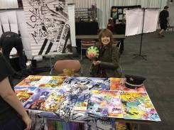 Liz comic convention 5