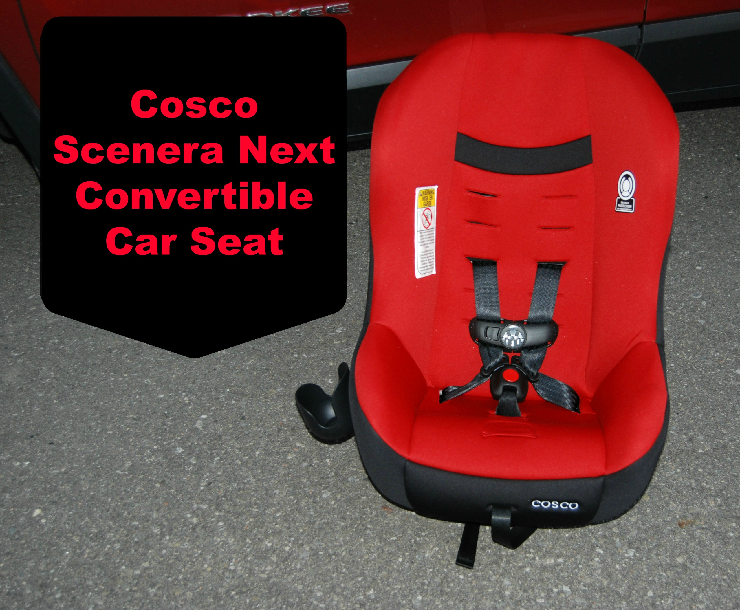Convertible Car Seat: Cosco Scenera Next Convertible Car Seat #REVIEW