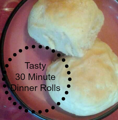 Tasty 30 Minute Dinner Rolls Naturally Cracked