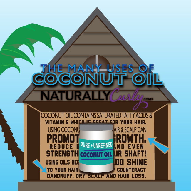 The Many Uses of Coconut Oil Infographic