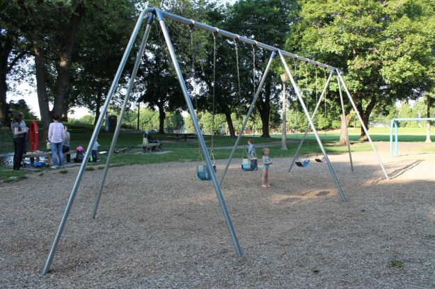 Irving City Park- Swings