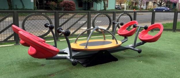 Portland Area Parks - Dawson Park - Bouncer Seat