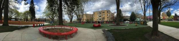 Portland Area Parks - Dawson Park - Pano