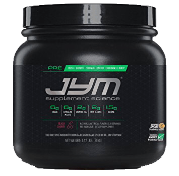 JYM Supplements- Pre JYM 20 servings