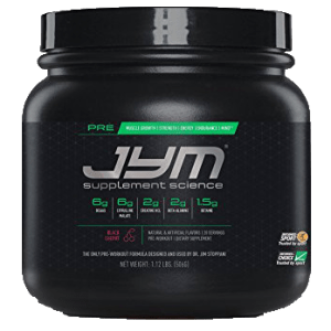 JYM Supplements- Pre JYM 20 servings