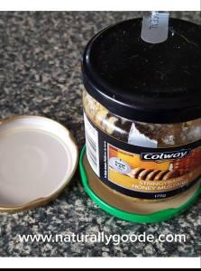 Recycled Jar Lid Coasters