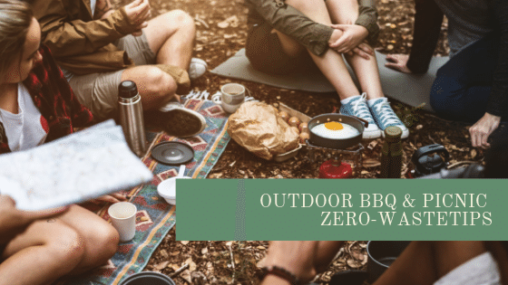 zero-wase outdoor bbq