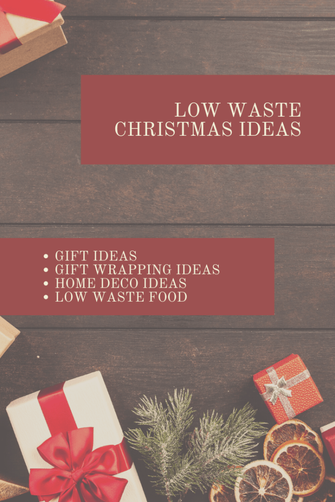 low waste christmas ideas