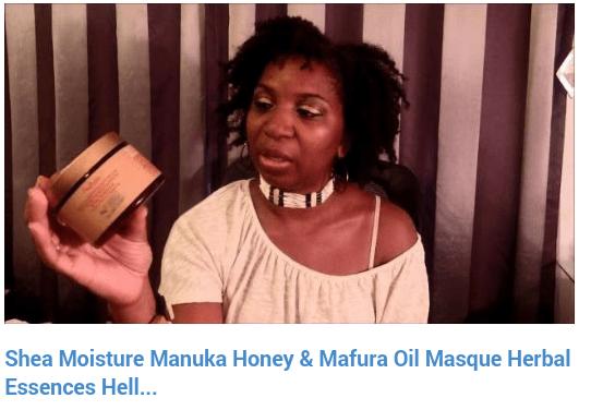 Shea Moisture Manuka Honey & Mafura Oil Masque Deep Treatment Product Review