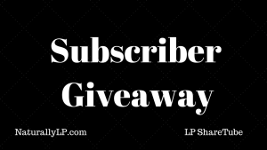 Subscriber Giveaway