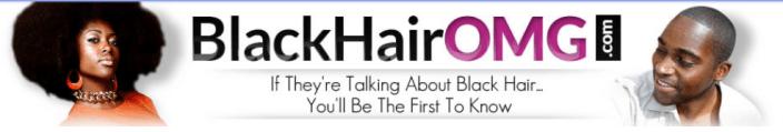 Black Hair OMG Banner