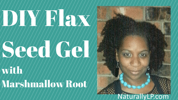 DIY Flaxseed Gel With Marshmallow Root