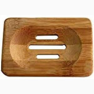 Natural Handmade Wooden Bamboo Soap Dish