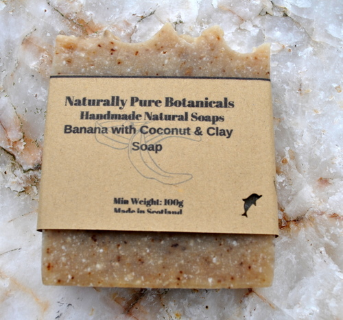 Banana-Coconut-with-Clay-soap-single-with-label.