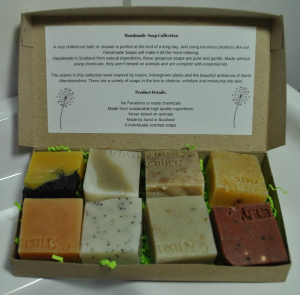 Handmade-soap-collection-showing-8-soaps