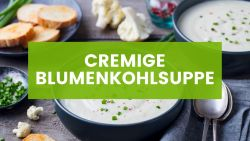 Cremige Vegane Blumenkohlsuppe