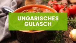 Herzhaftes veganes Gulasch