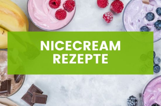 Vegane Nicecream Rezepte