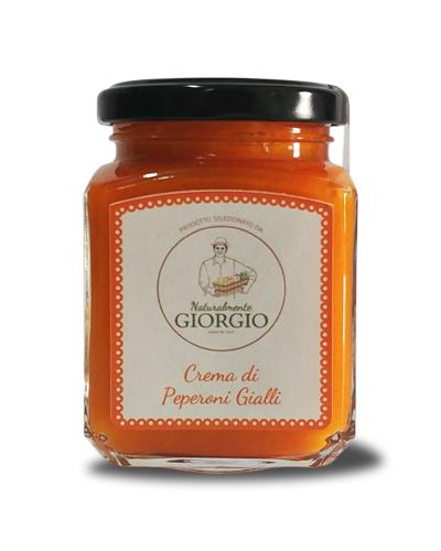 Crema Peperoni Gialli 200g