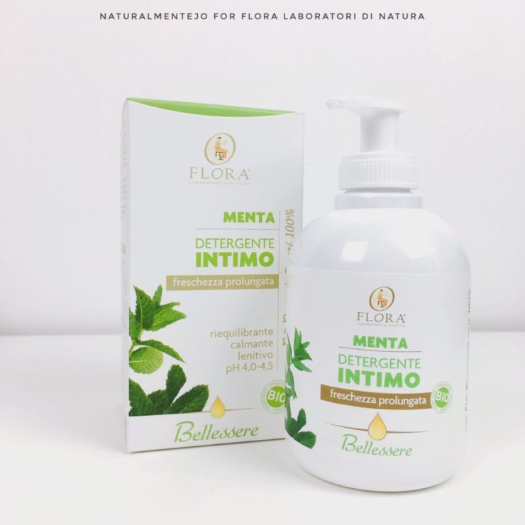 Detergente intimo alla menta (freschezza prolungata) Flora