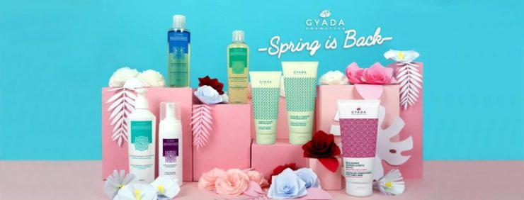 banner spring is back gyada cosmetics