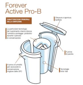Il nuovo Forever Active Pro-B: probiiotici di ultima generazione   Naturalmente