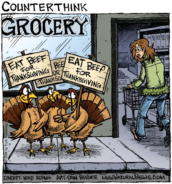 Thanksgiving Turkeys Comic