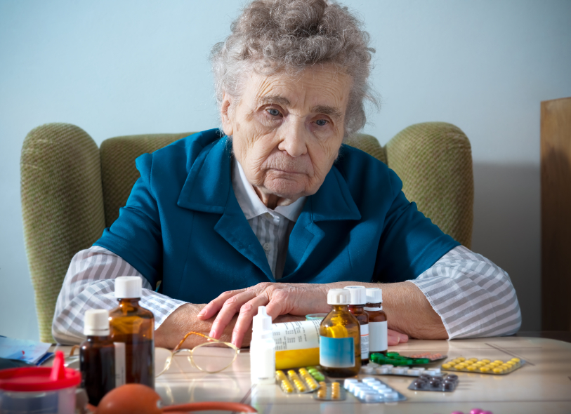 Image: Killing Grandma: Over a third of elderly sent to ER due to adverse medication reactions