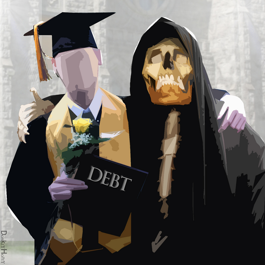 Image: Massive student loan fraud scam: 99.8% of repayment data fraudulently altered by schools