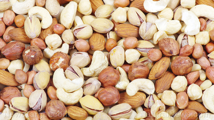 Image: Time to go nuts! Almonds, pecans, walnuts, hazelnuts and cashews, linked to lower risk of colon cancer